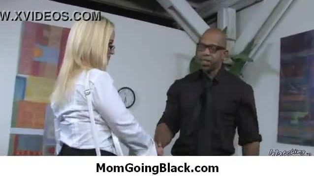 Hot milf mommy sucks and fucks a monster black cock 8
