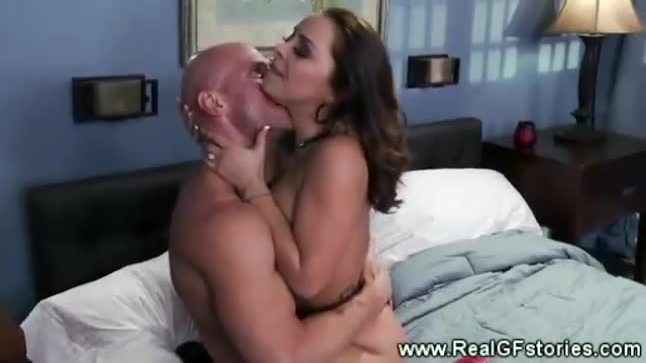 Cheating wife gets a rimjob